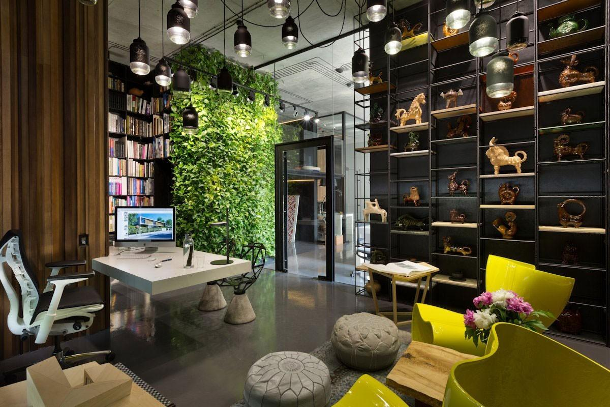 Modern Eco Friendly Office Design Creative Indoor