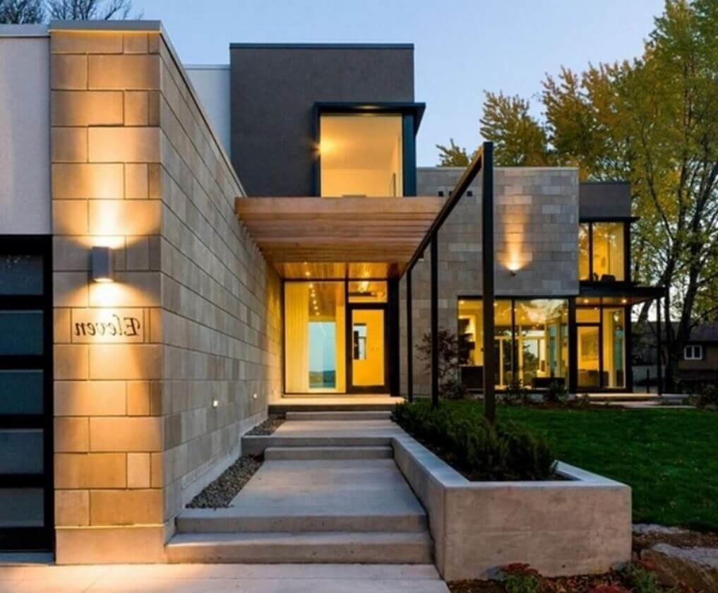 Modern Entrances Designed Impress Architecture
