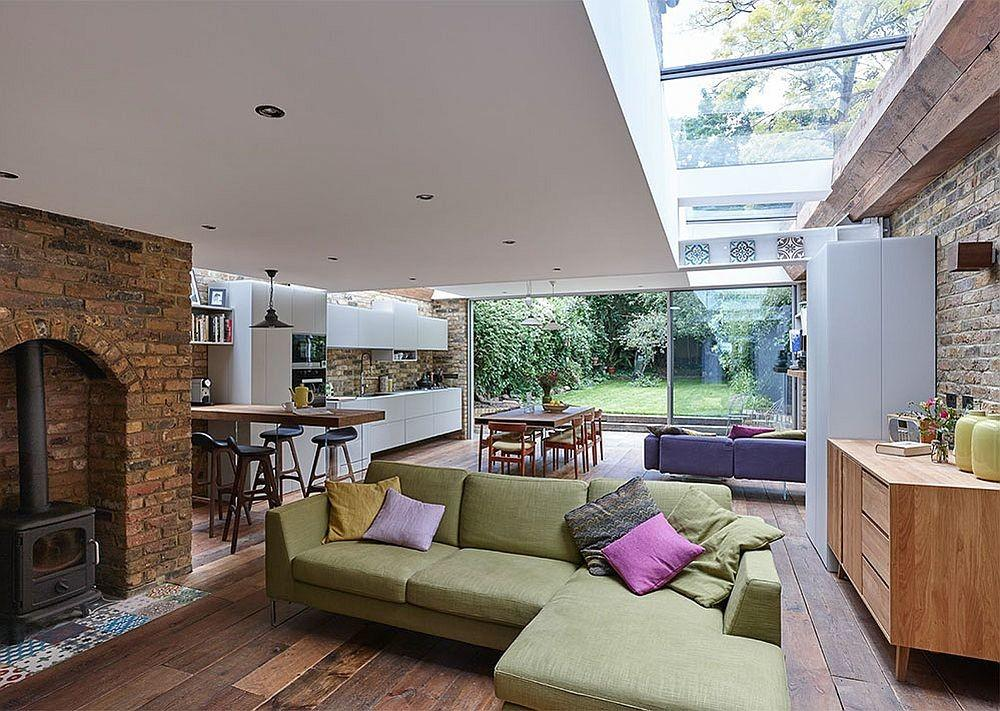 Modern Extension Semi Detached House North London