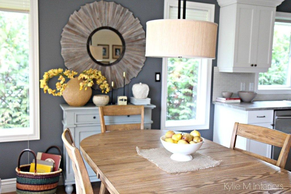 Modern Farmhouse Country Style Dining Room Home Decor
