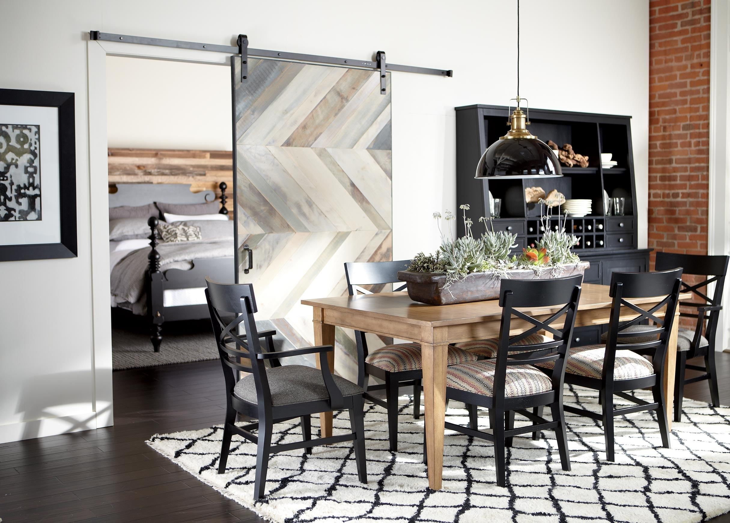 Modern Farmhouse Dining Room Ethan Allen