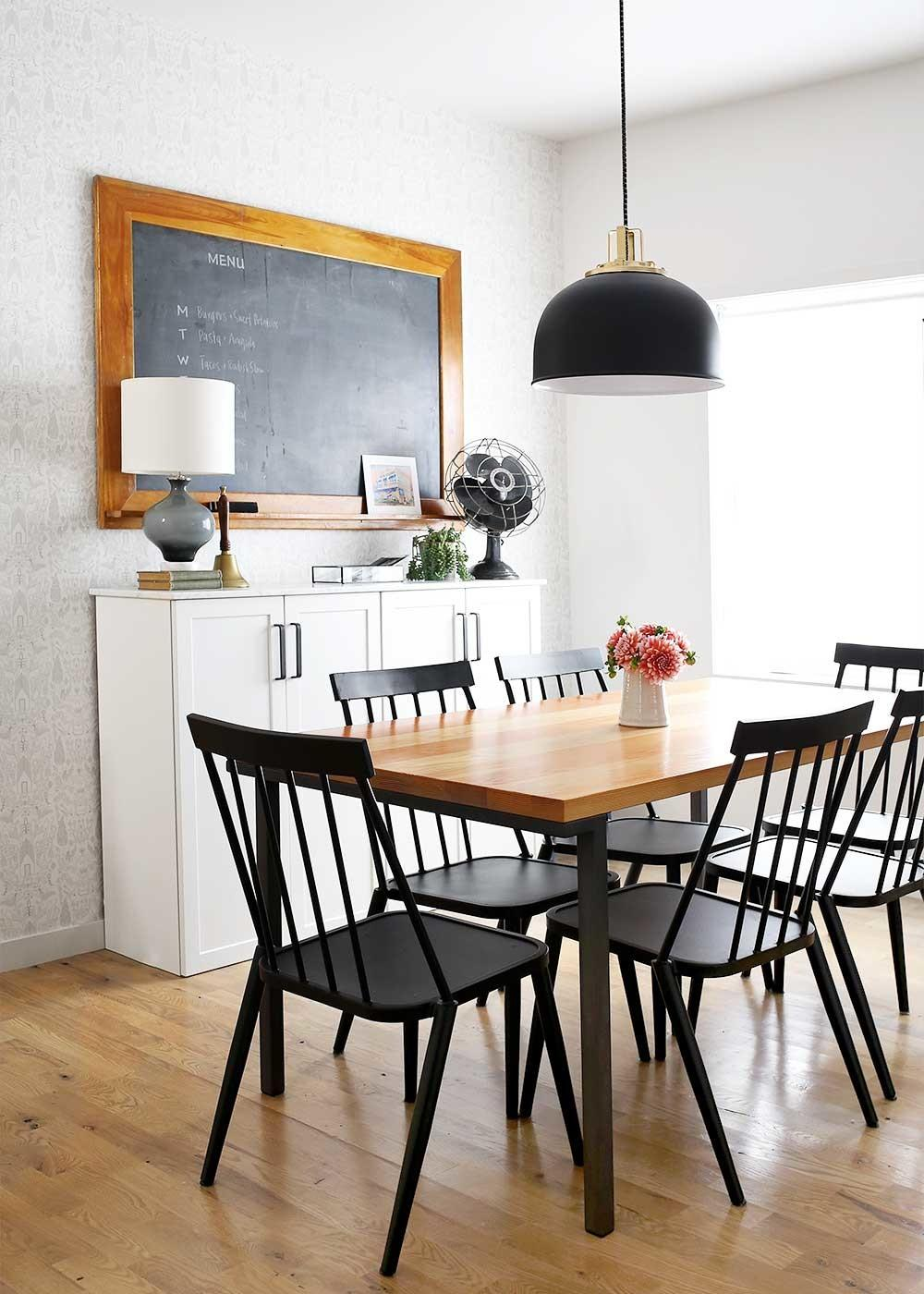 Modern Farmhouse Dining Room Fauxmartha
