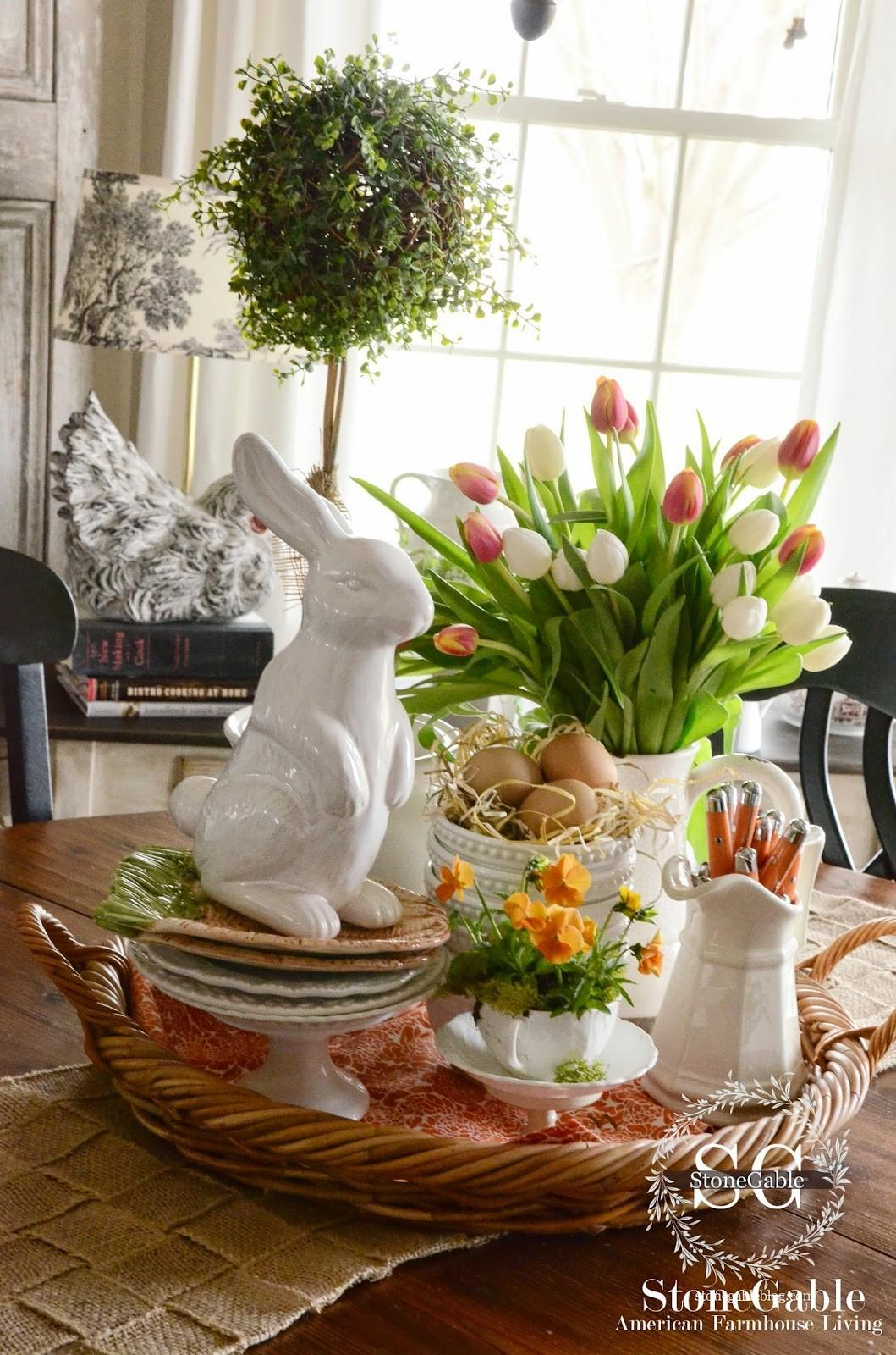 Modern Farmhouse Easter Decor Ads