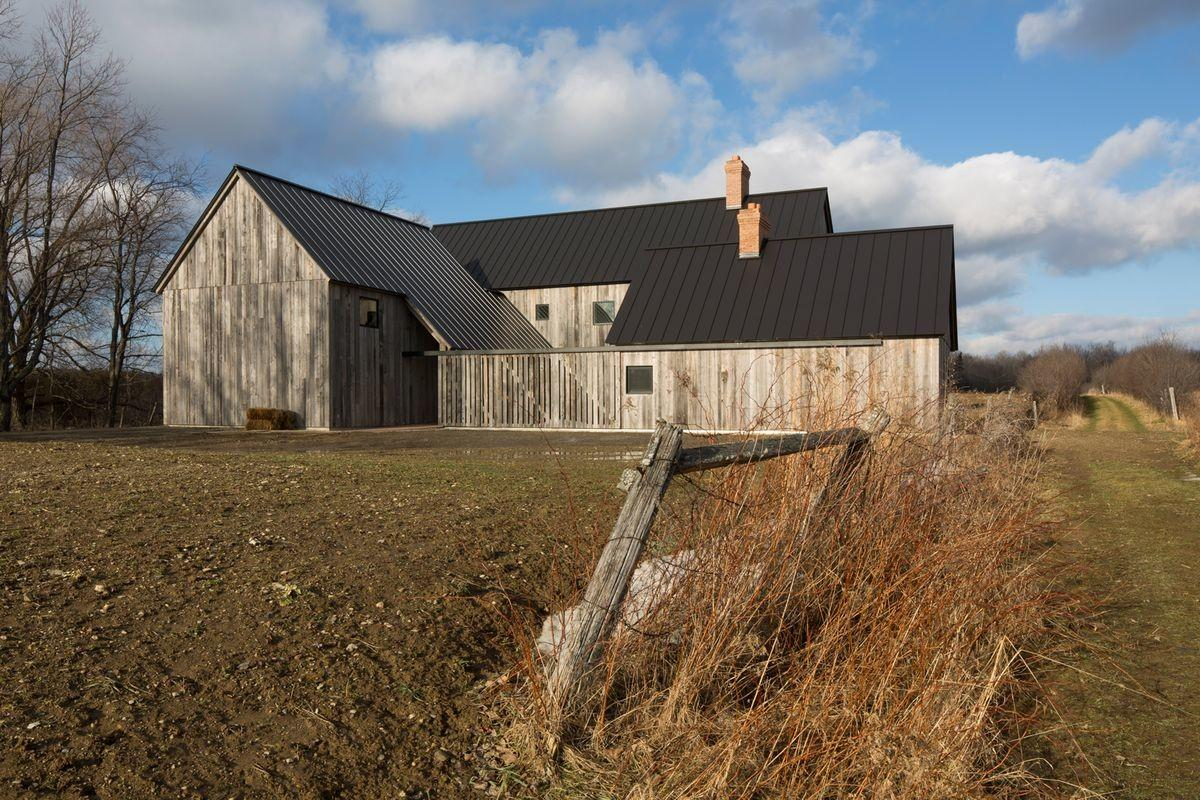 Modern Farmhouse Updates Canadian Homestead Curbed