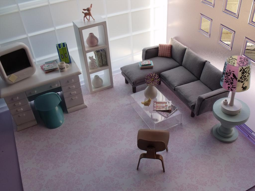 Modern Feminine Living Room Just Realized Forgot