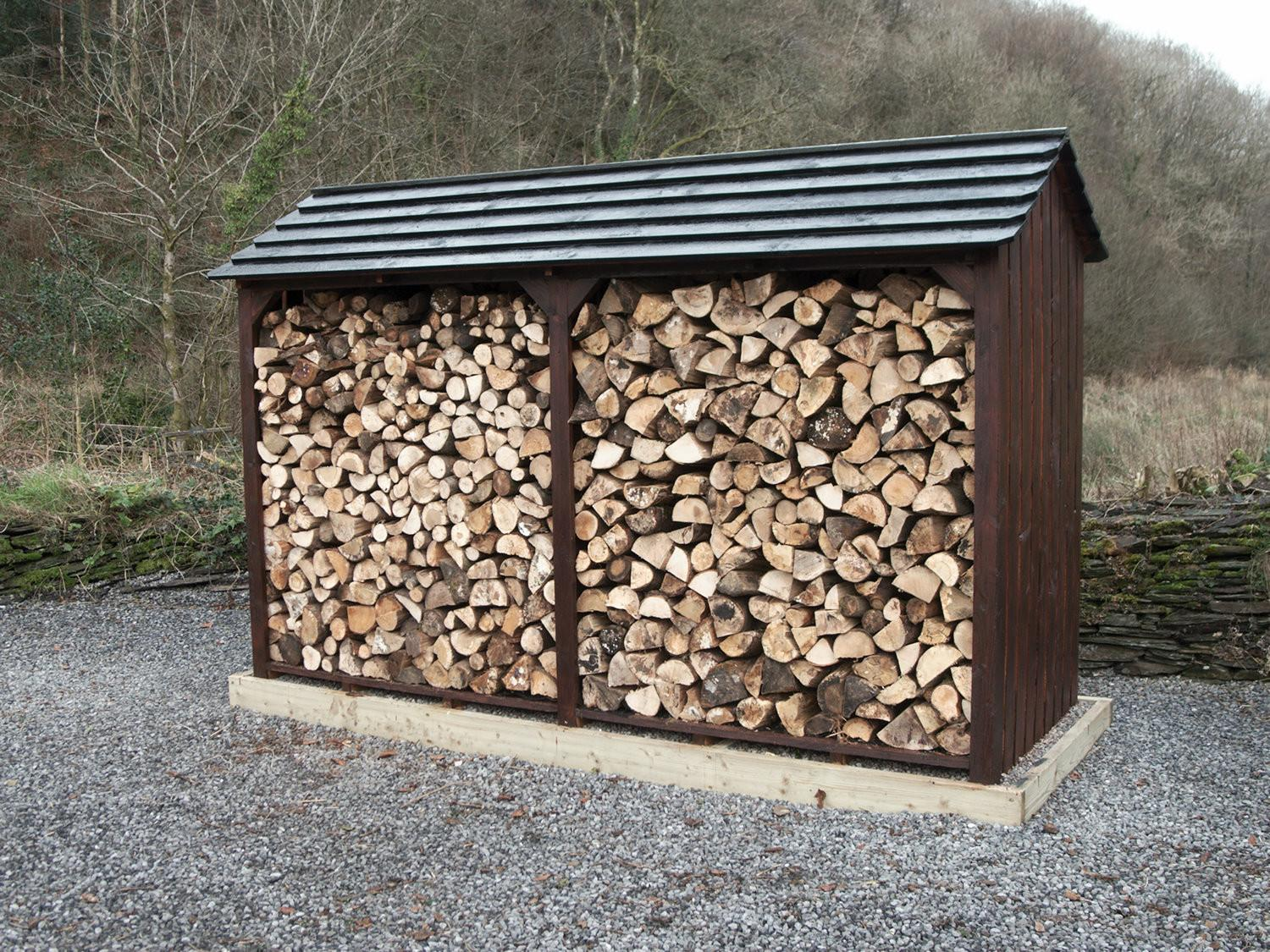 Modern Firewood Storage Shed Home Design Ideas