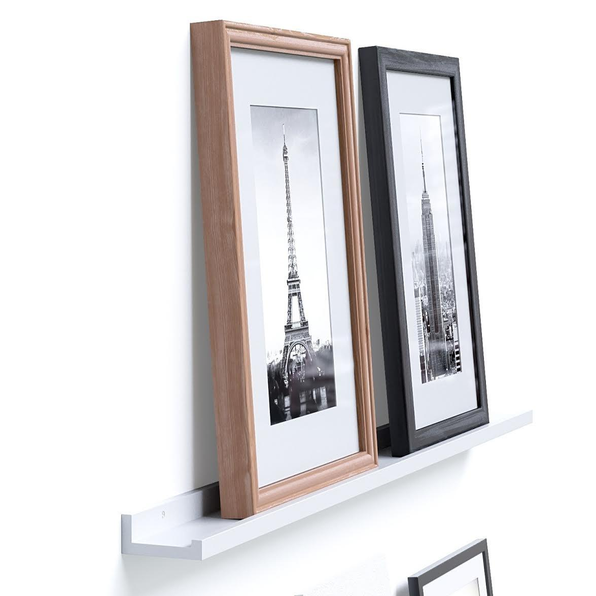 Modern Floating Wall Mounted Decorative Hanging Ledges