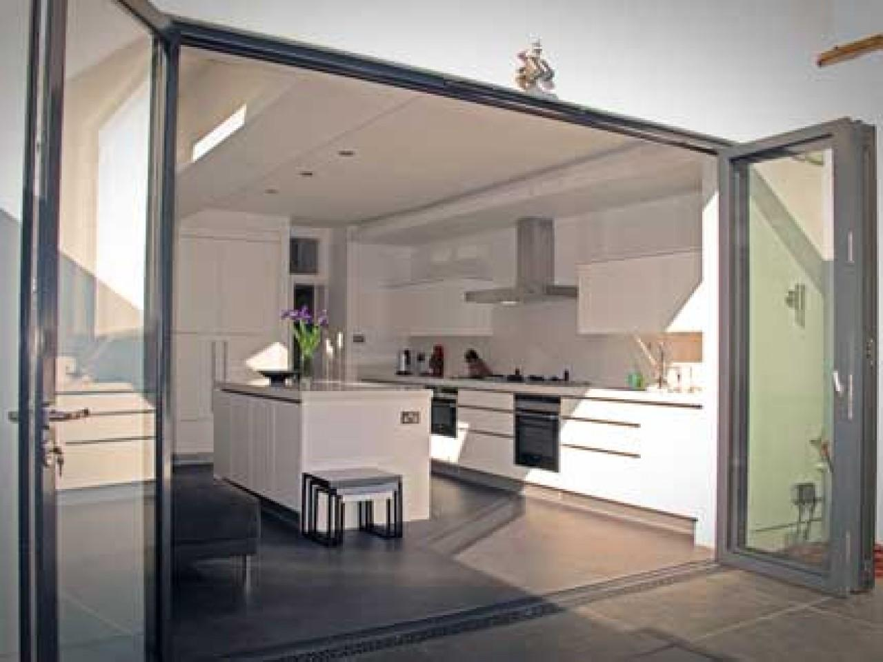 Modern Fold Doors Interior Bifold Closet Kitchen