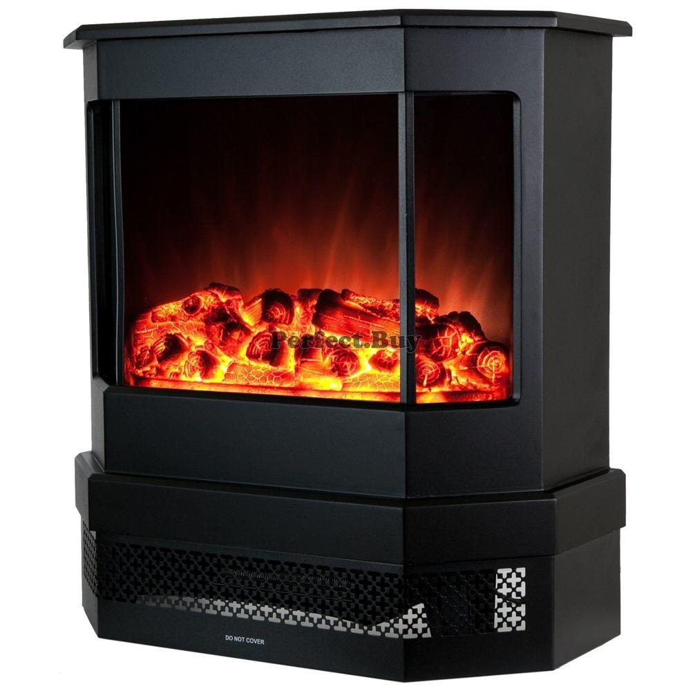 Modern Freestanding Portable Electric Heat Stove