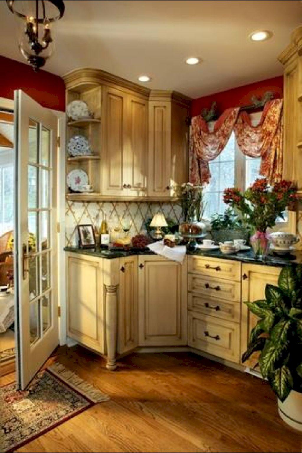 Modern French Country Kitchen Decorating Ideas