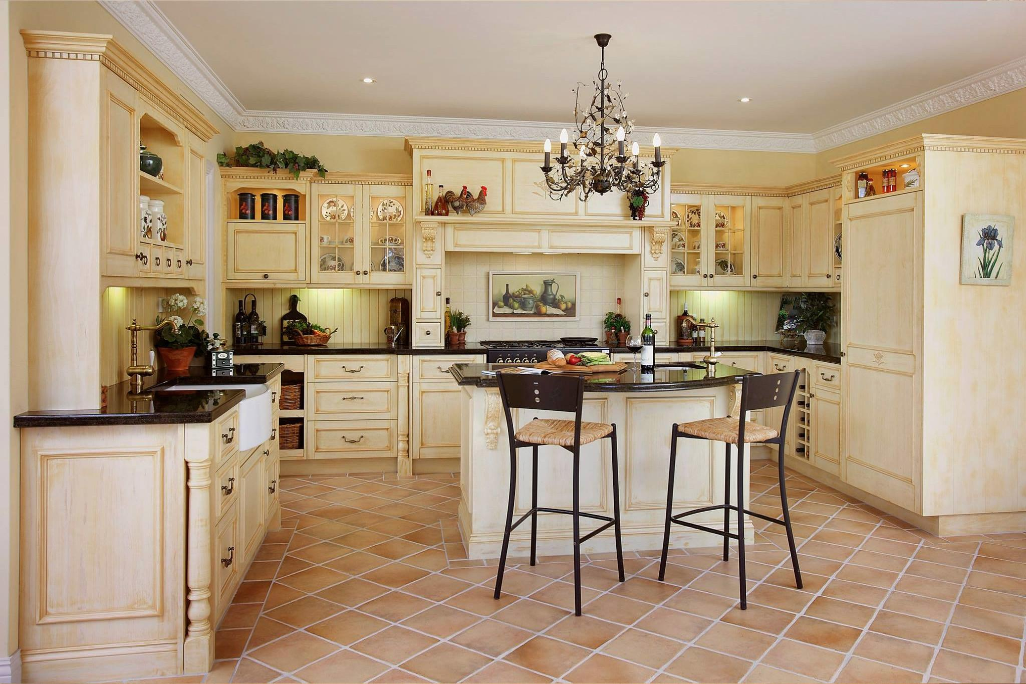Modern French Style Provincial Kitchens Melbourne Sydney