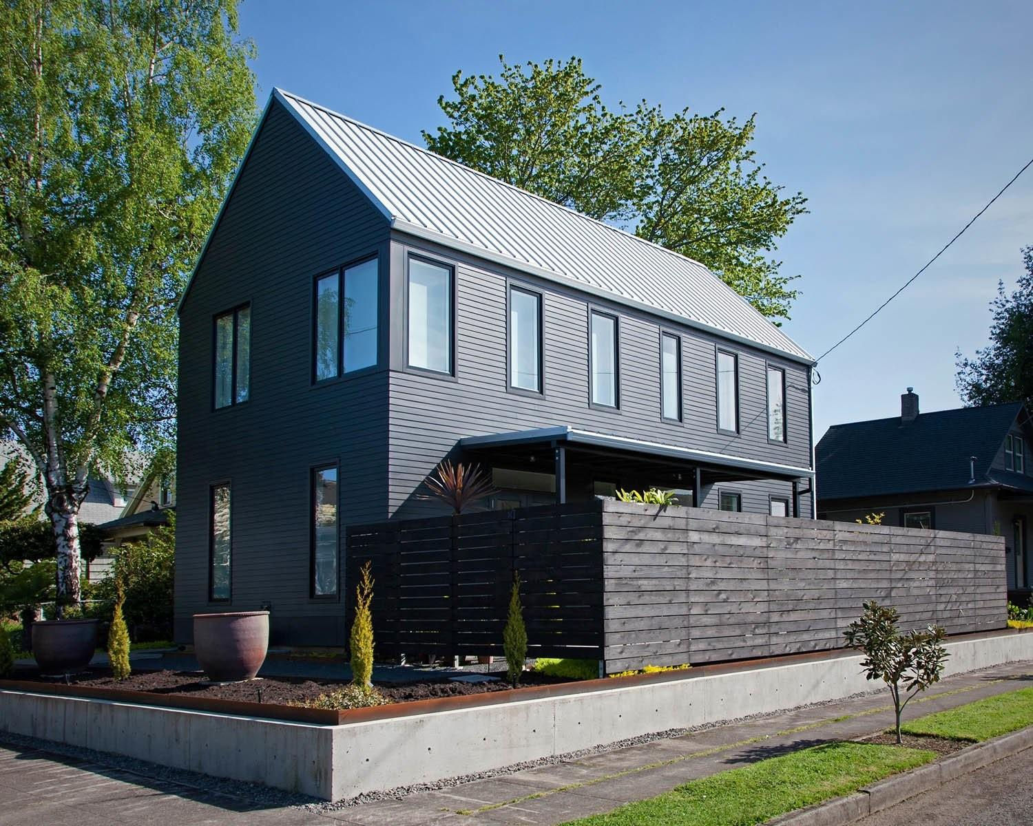 Modern Gabled House Portland Dwell