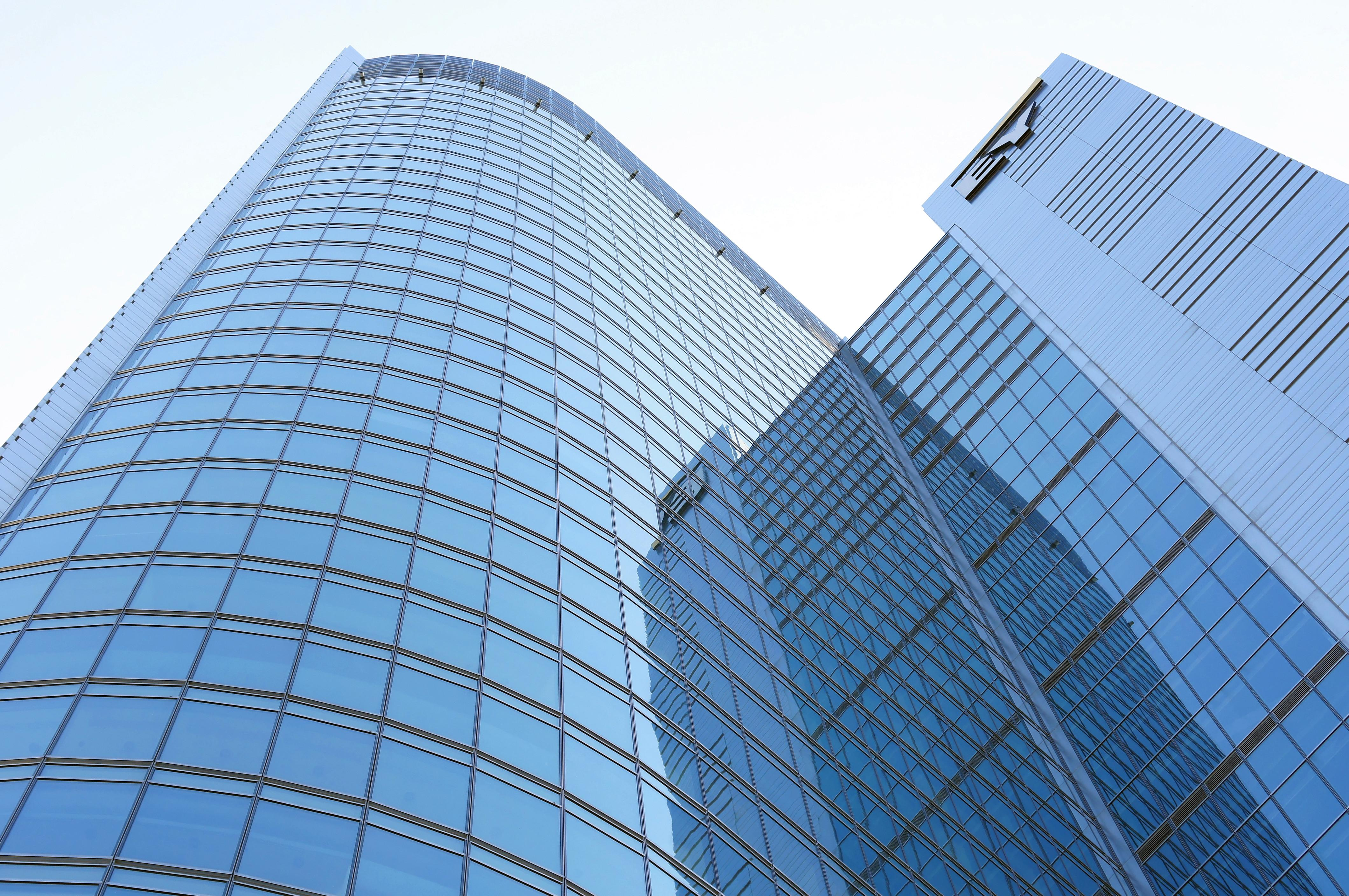 Modern Glass Building Warsaw Our Great Photos