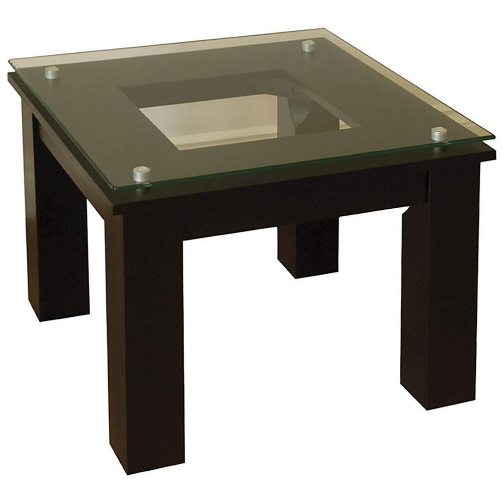 Modern Glass End Table Accent Tables