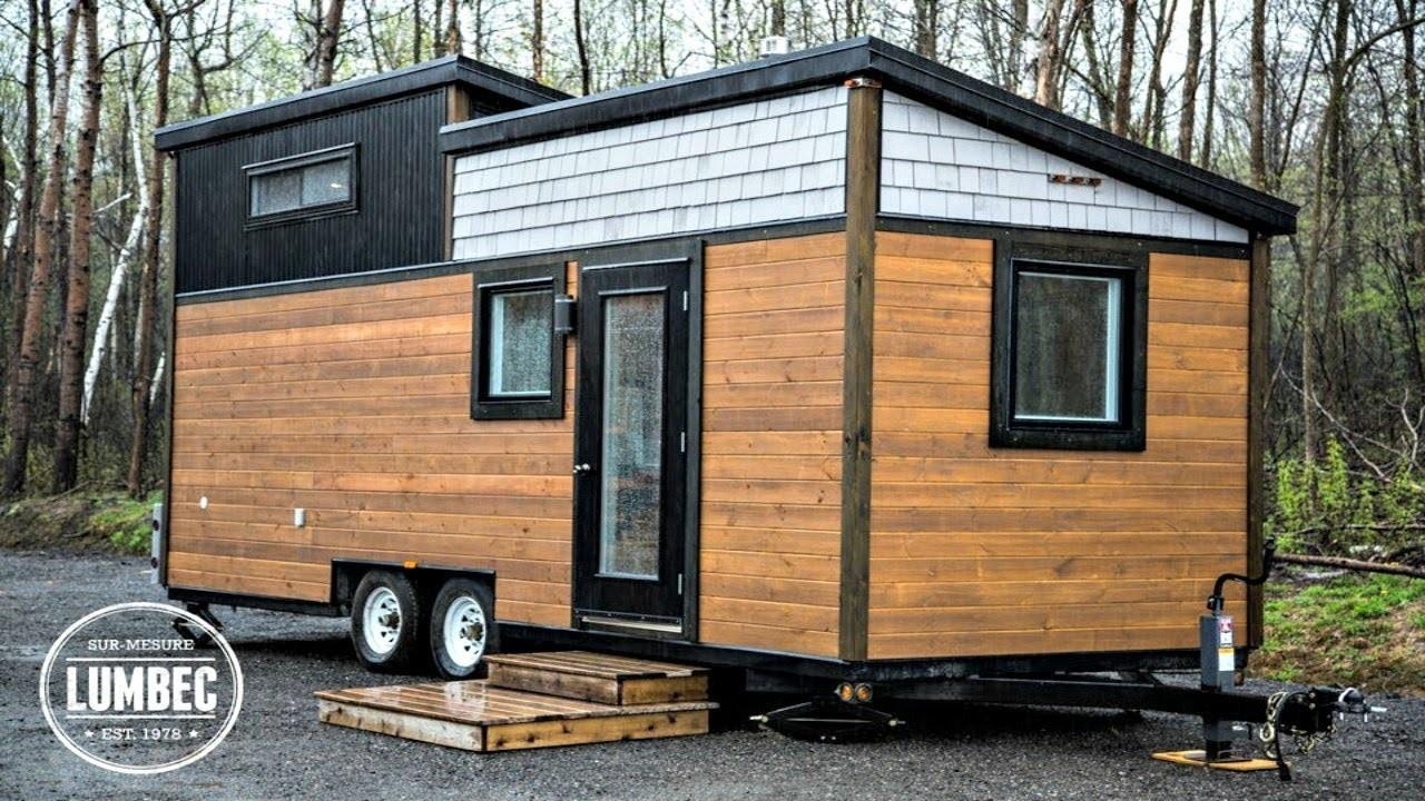 Modern High End Luxury Tiny House Wheels Small Home