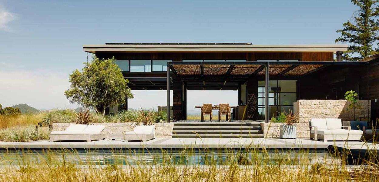 Modern Home California Wine Country Indoor