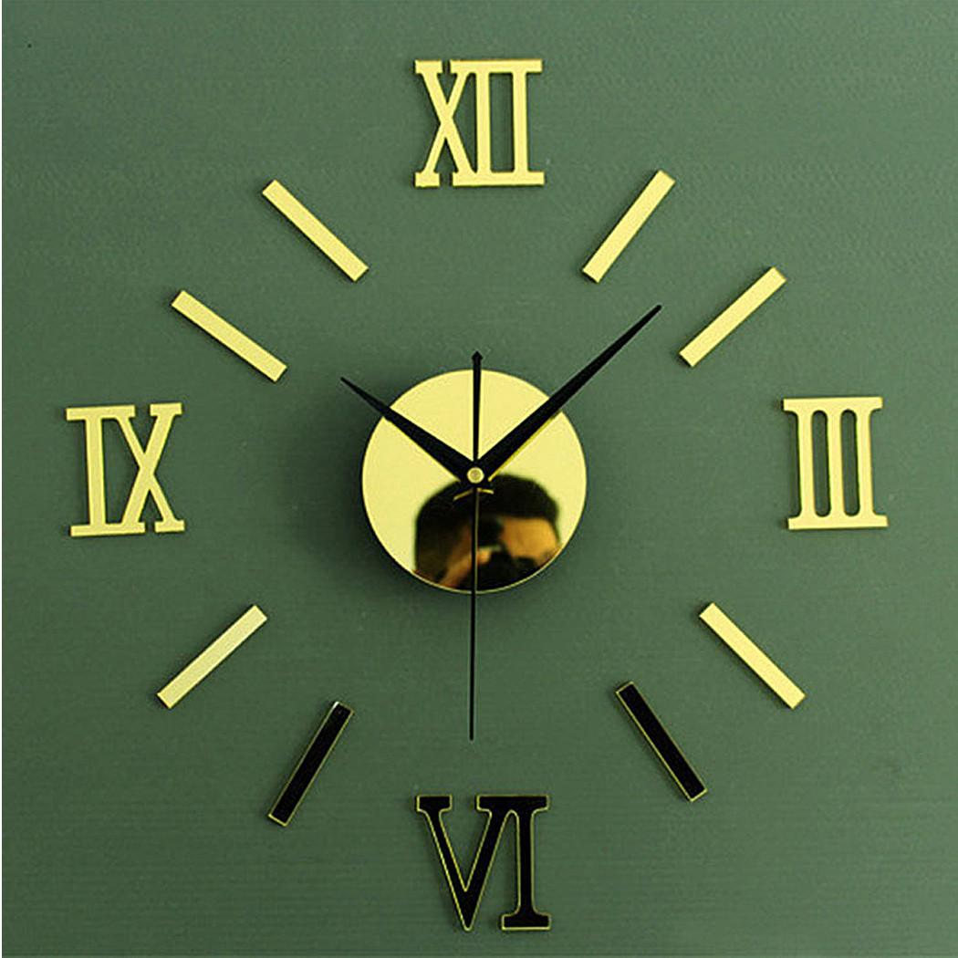Modern Home Decoration Wall Clock Diy Living Room