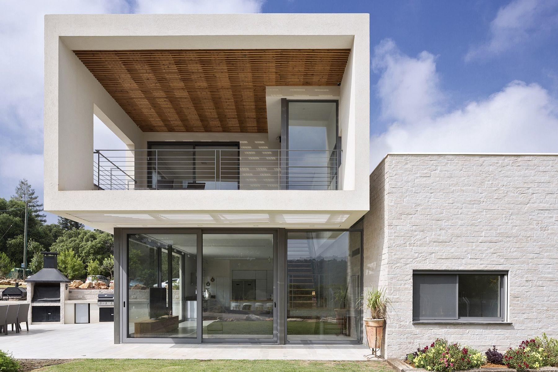 Modern Home Israel Puts Open Living Spaces Forefront