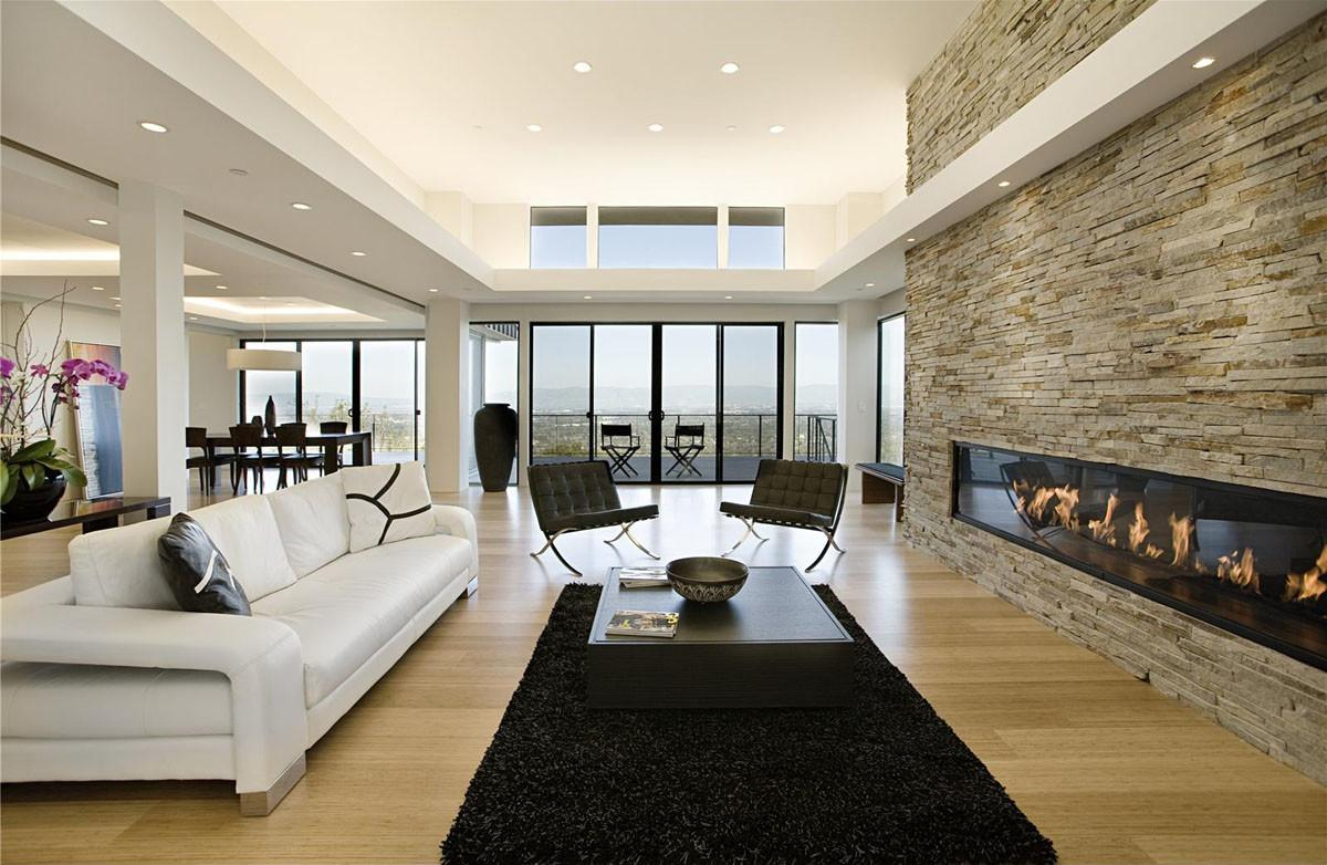 Modern Home Sweeping Valley Idesignarch