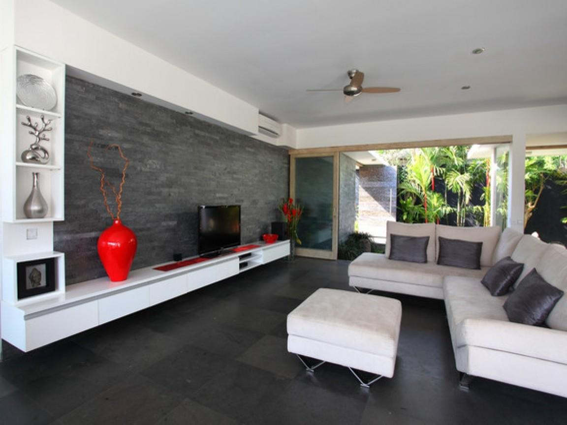 Modern Home Wall Decor Tile Accent Living Room