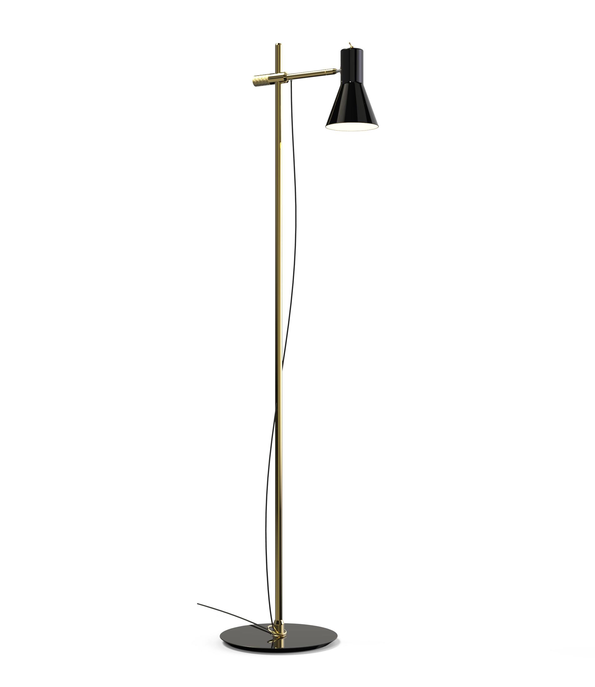 Modern House Brimming Mid Century Floor Lamps