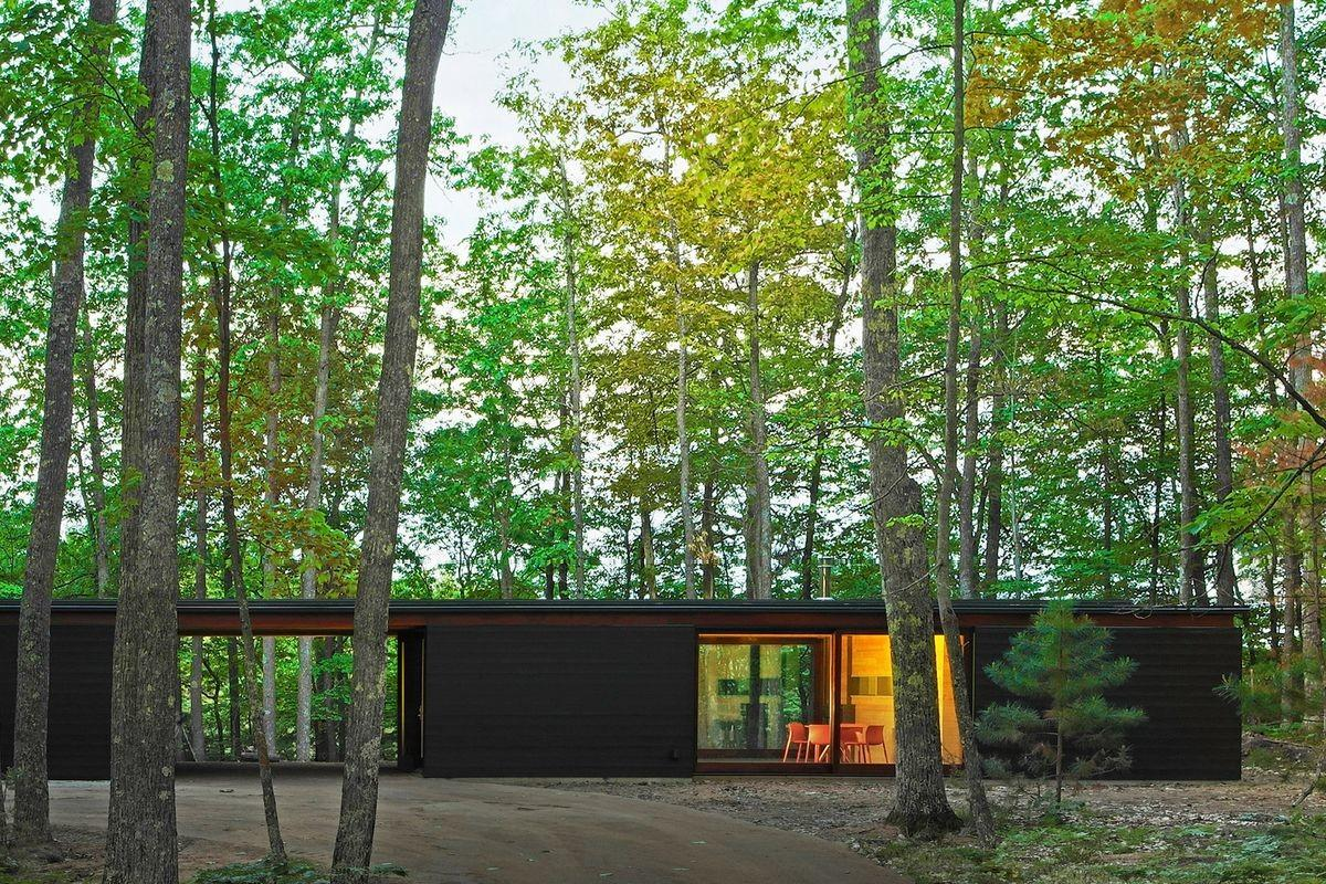Modern House Clad Blackened Timber Updates Rustic