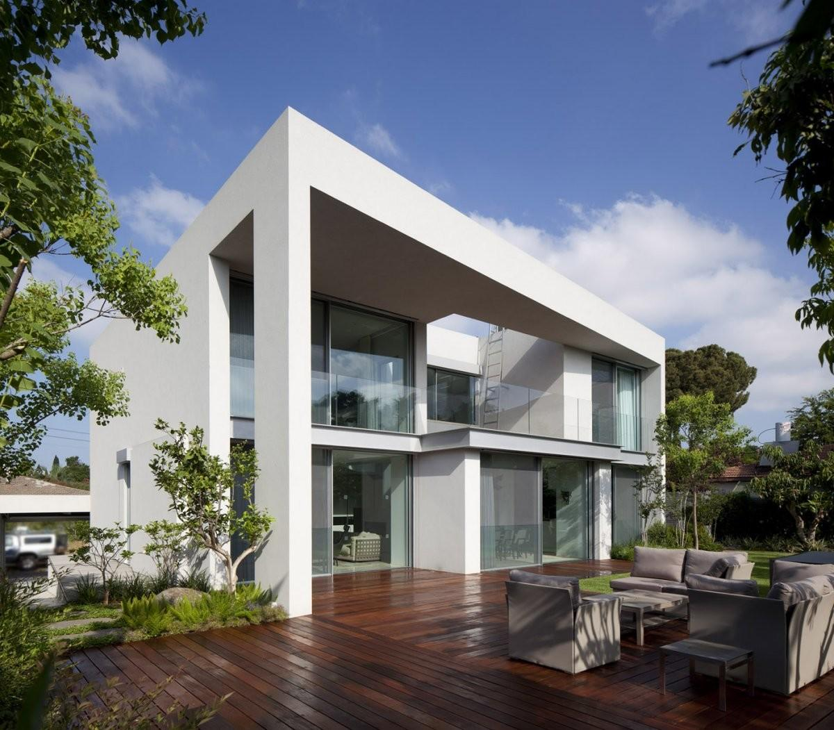 Modern House Tel Aviv Domb Architects