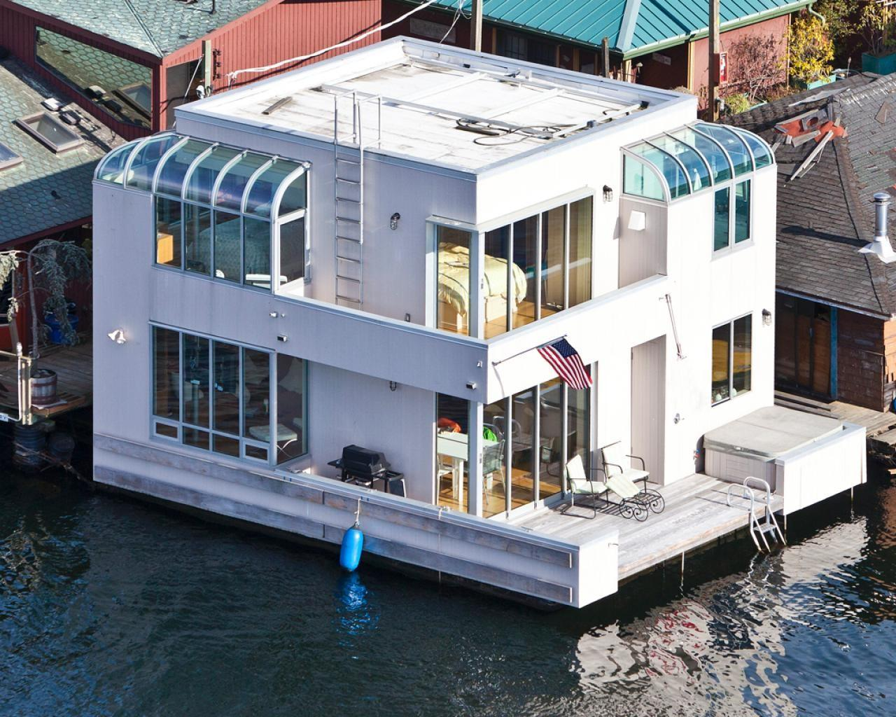 Modern Houseboat Seattle Ultimate House