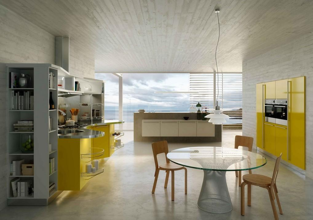 Modern Italian Kitchens Snaidero Futura Home Decorating