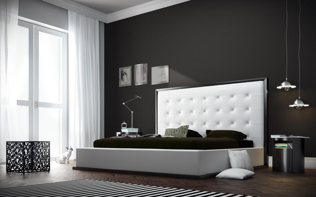 Modern King Bed Frames Providing Spacious Room