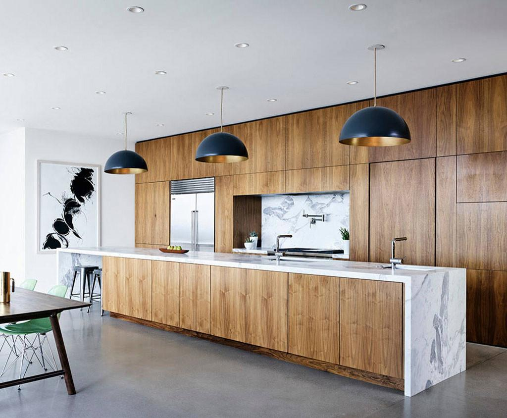 Modern Kitchen Cabinets Traditional Wood Furniture