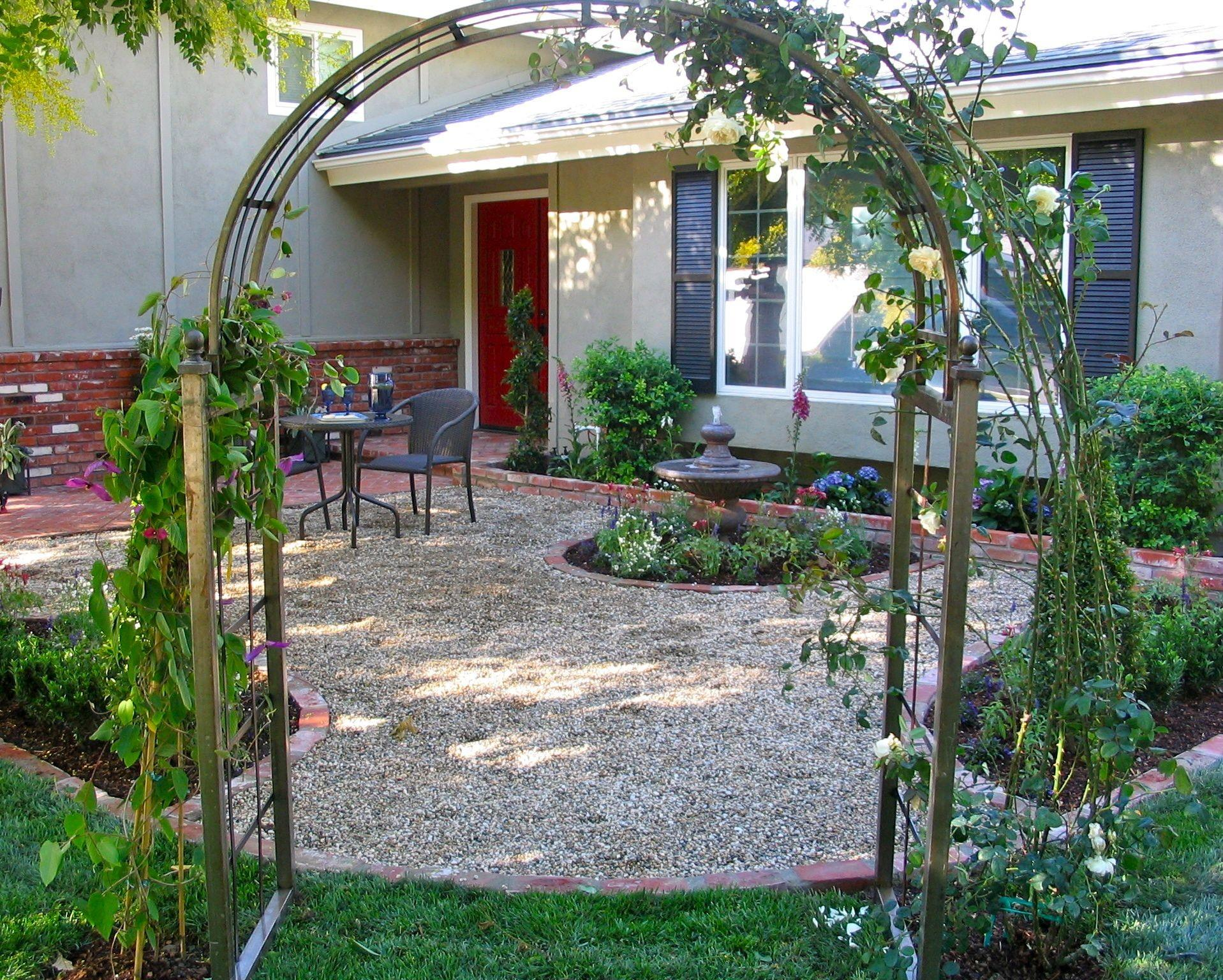 Modern Landscape Ideas Front Yard Without Grass