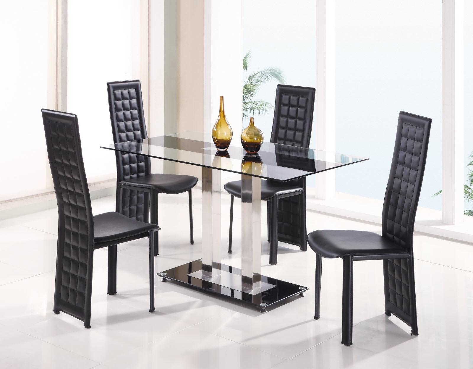 Modern Leather Dining Room Chairs Delightful