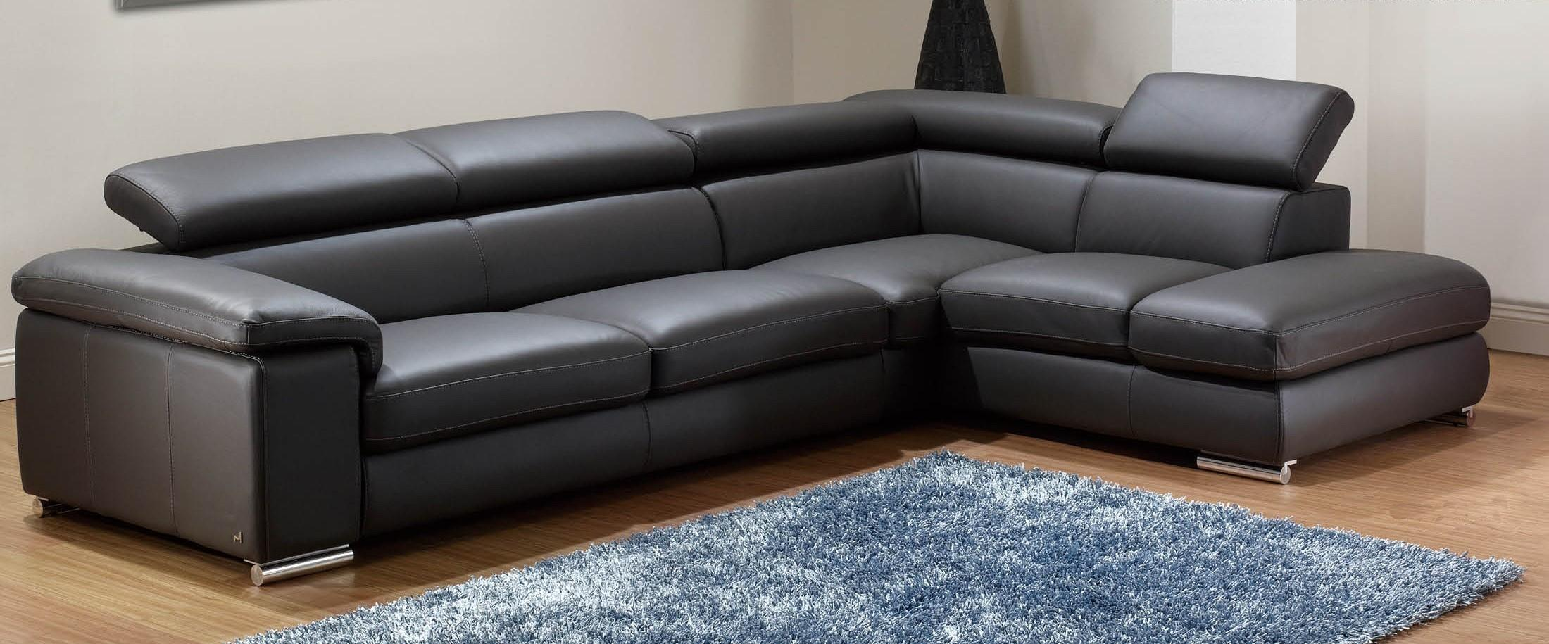 Modern Leather Sectional Sofa Best Sofas Ideas