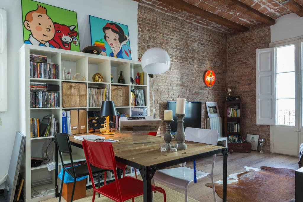 Modern Loft Best Location Lofts Rent Barcelona