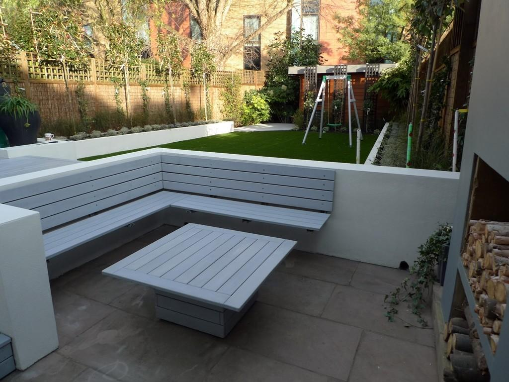 Modern Low Maintenance Minimalist Garden Design Idea