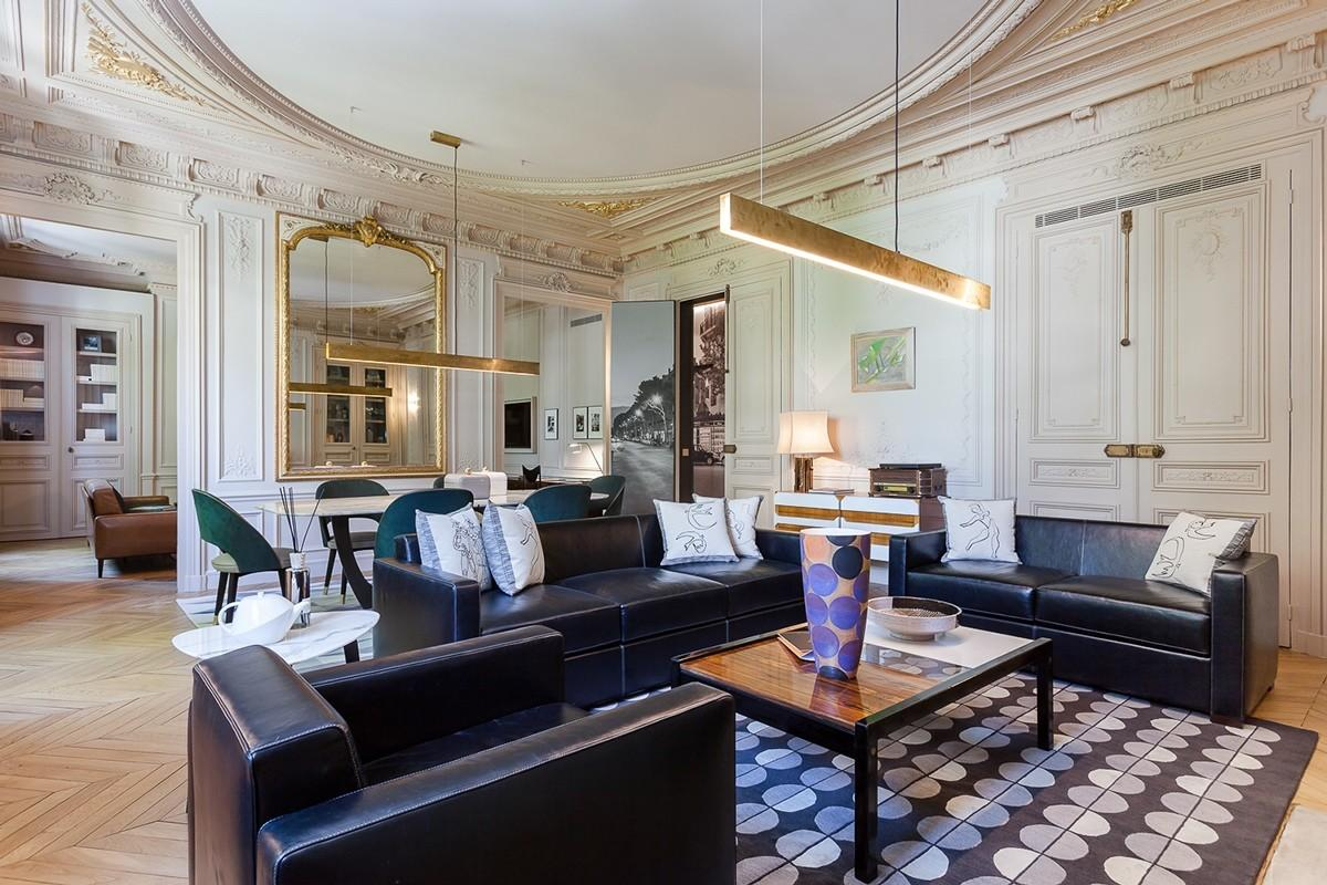 Modern Luxury Apartment Interior Design Mathieu Fiol