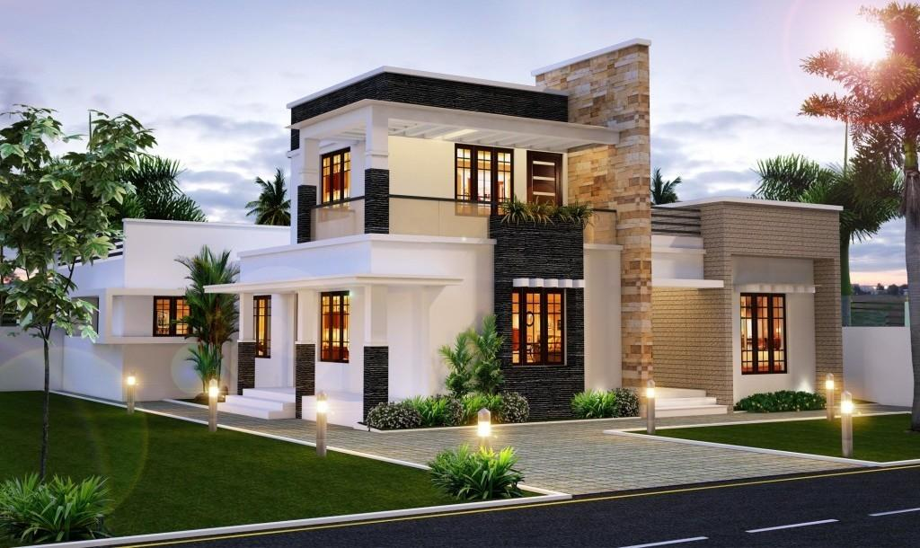Modern Luxury Villa Design Awesome Top House Designs