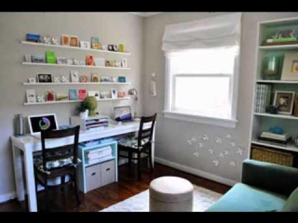Modern Makeover Decorations Ideas Home Office Guest