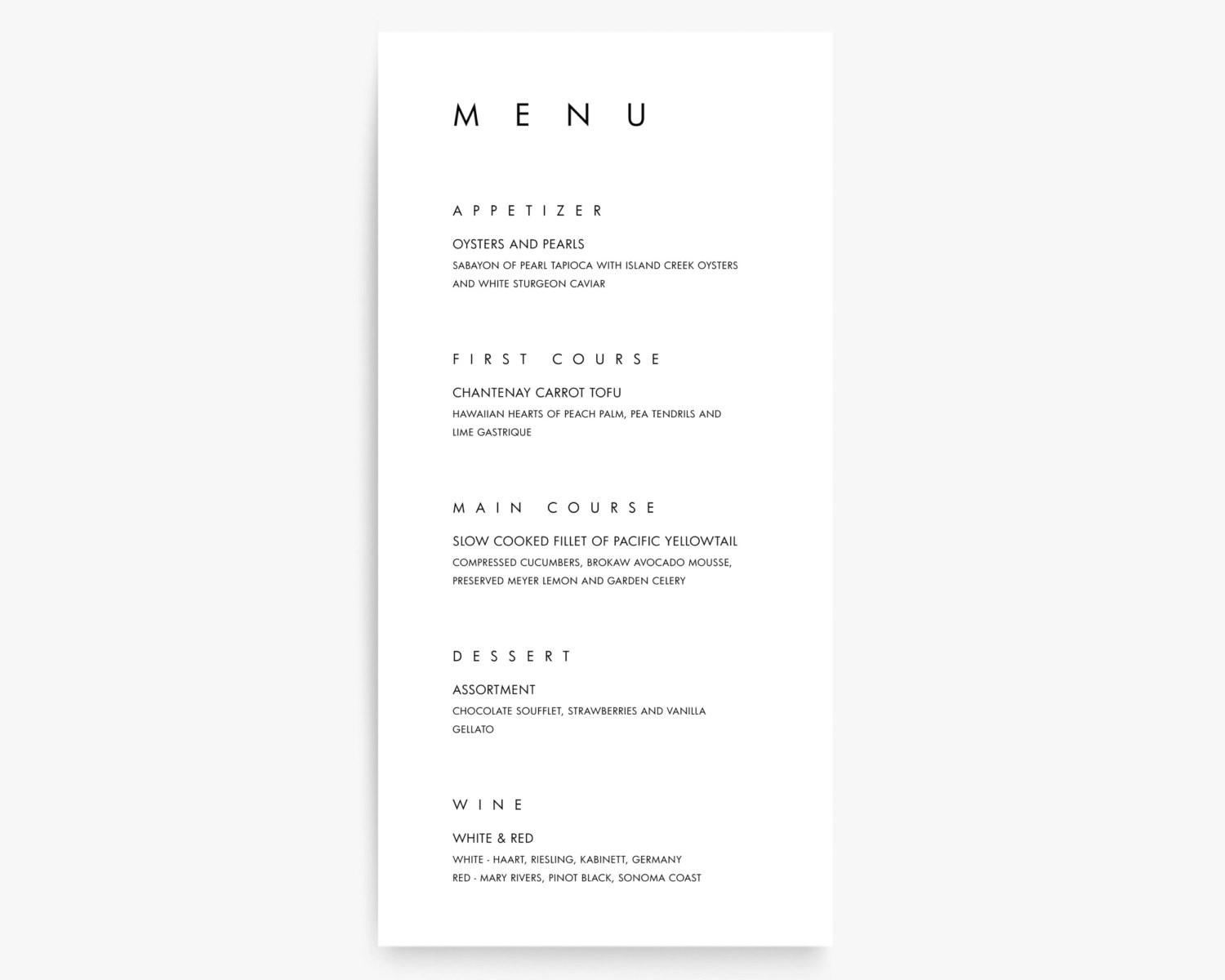 Modern Menu Designs Design Trends Premium Psd