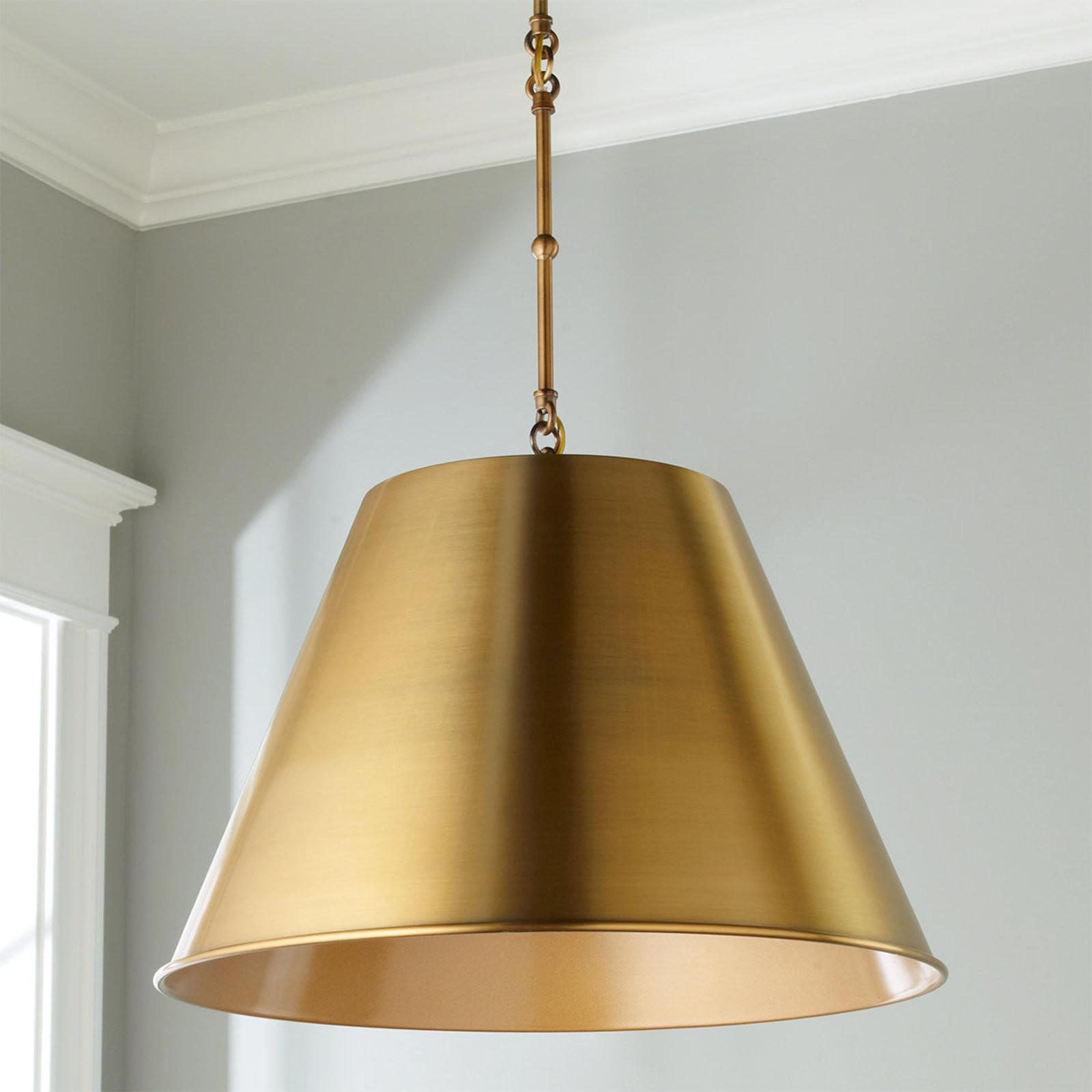 Modern Metal Shade Pendant Shades Light