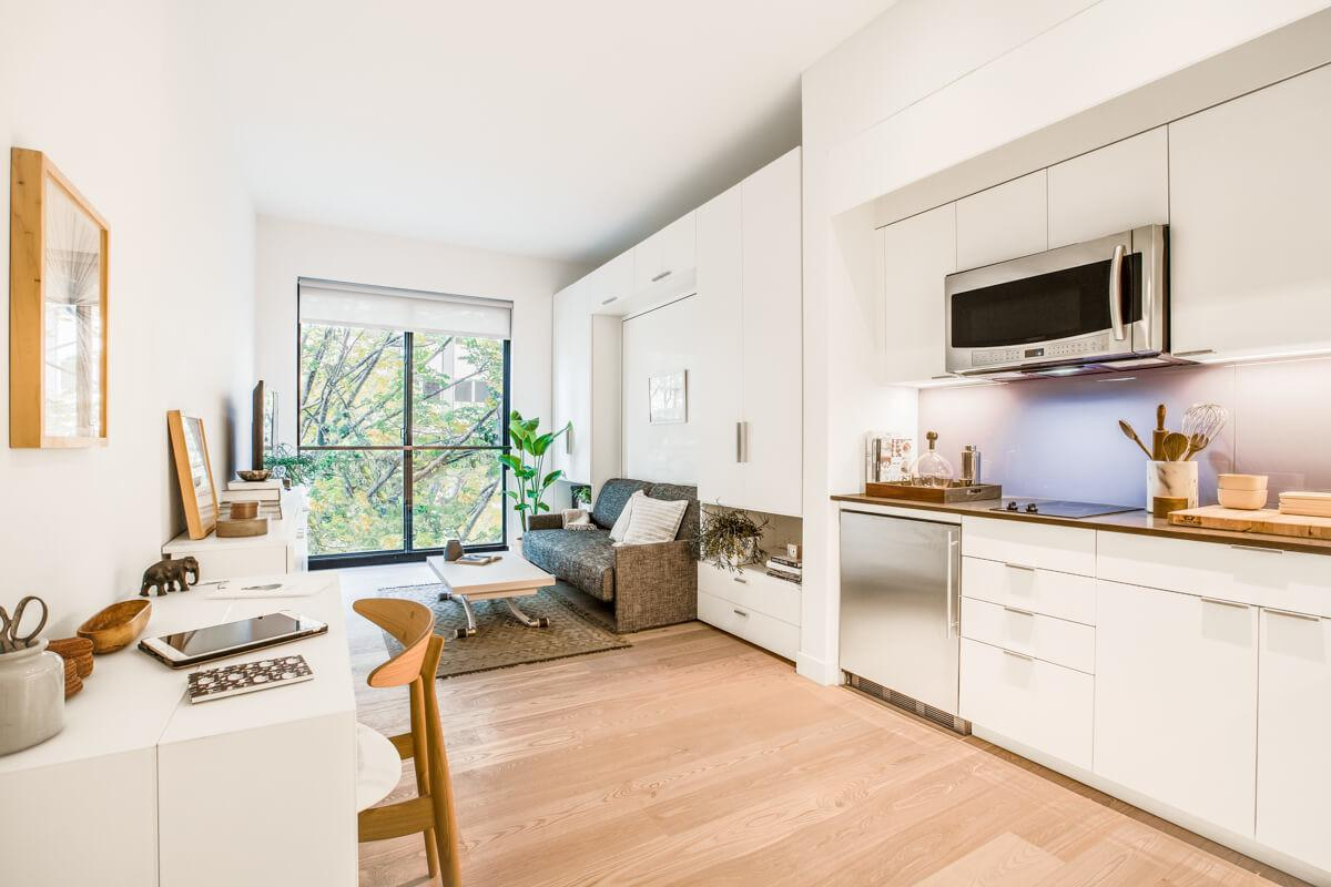 Modern Micro Apartments Living Large Big Cities