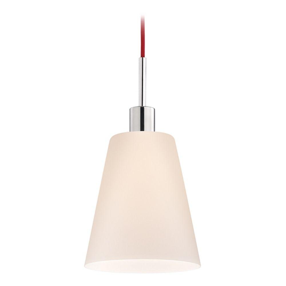 Modern Mini Pendant Light White Glass 3562 01r