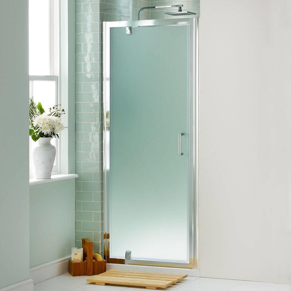 Modern Minimalist Bathroom Design Frosted Glass