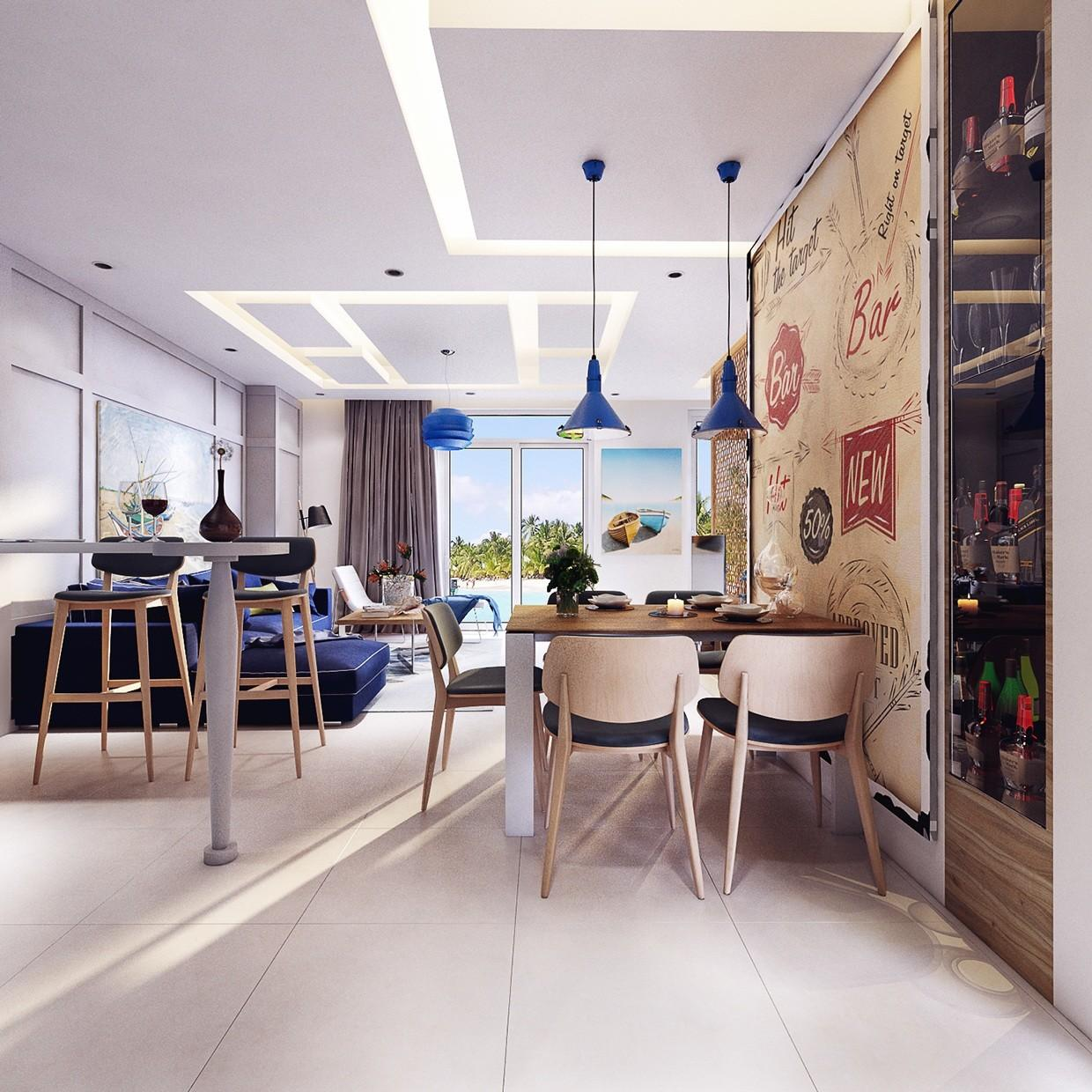 Modern Minimalist Dining Room Design Ideas