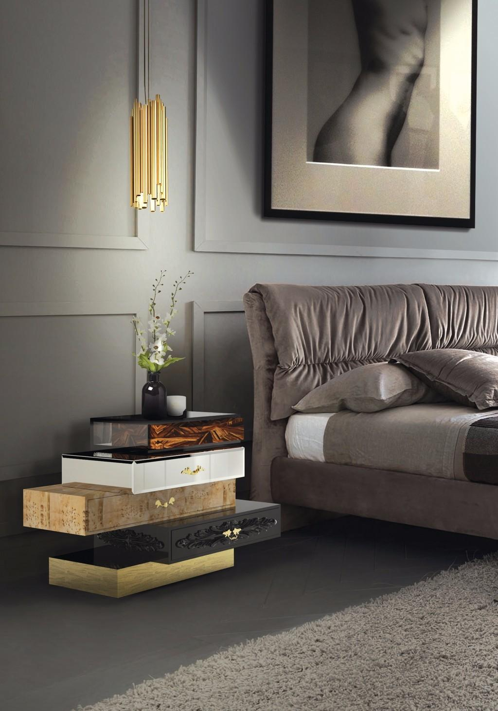Modern Nightstand Ideas Master Bedroom Collection