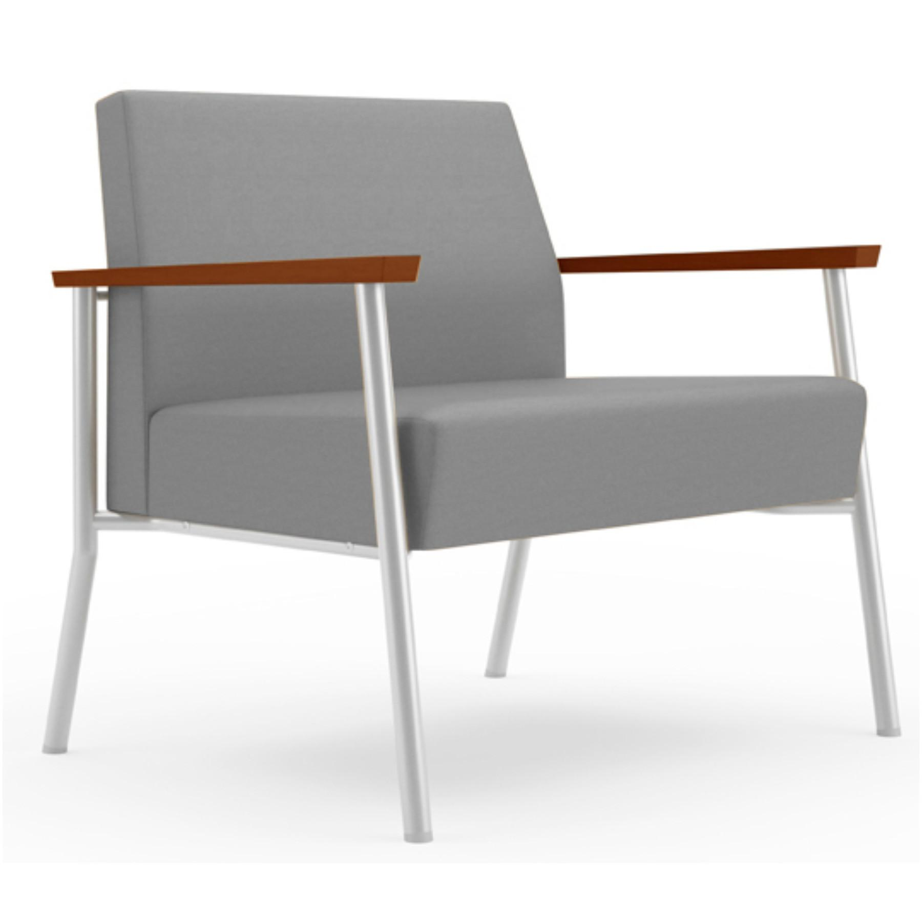 Modern Office 750 Lbs Open Arm Bariatric Lounge Chair