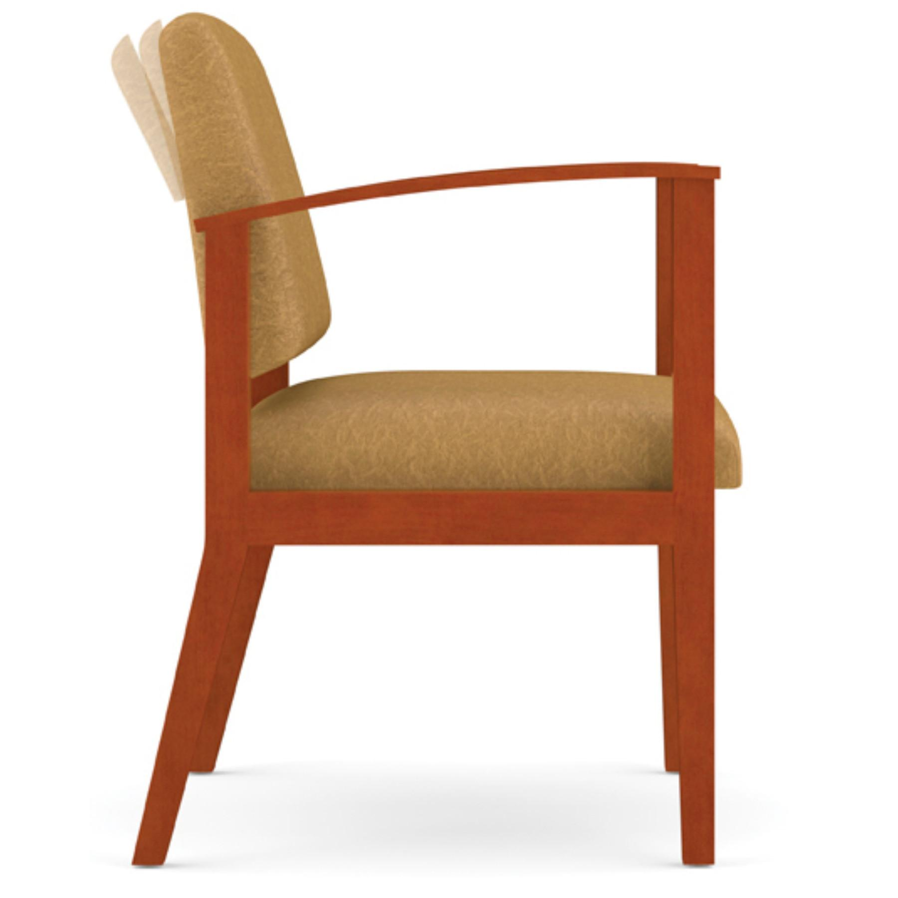 Modern Office Amherst Wood Frame Motion Chair Upgrade