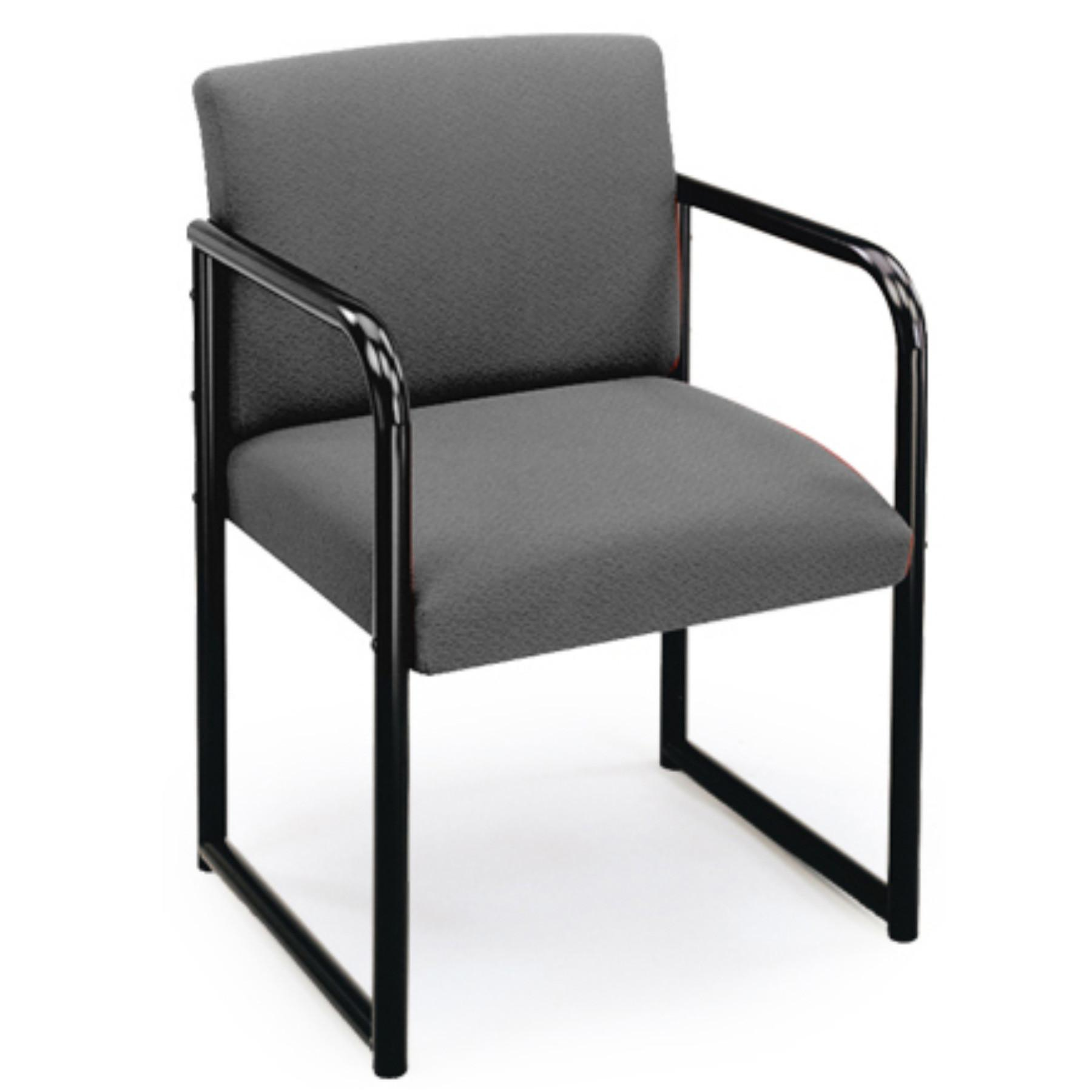 Modern Office Sheffield Back Sled Base Guest Chair