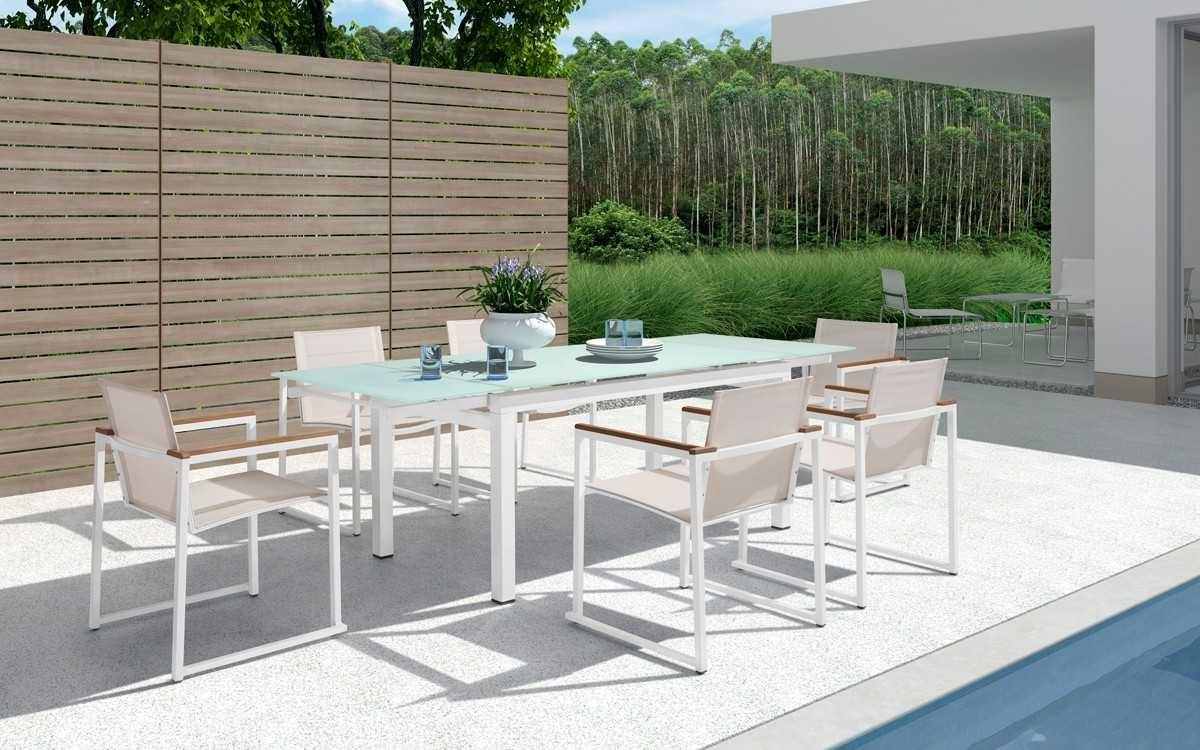 Modern Outdoor Dining Table Set High